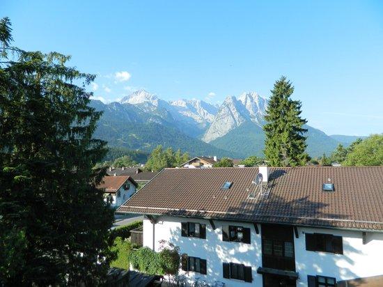 Hotel Rheinischer Hof : view
