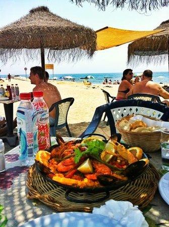 Tramps Beach Restaurant Puerto Benus