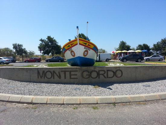 Rotunda em Monte Gordo