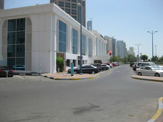 Al Ain Palace Hotel: Frontage