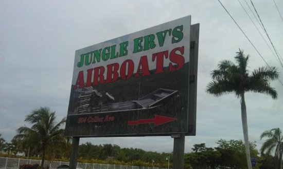 Jungle Erv's Everglades Airboat Tours: Jungle Erv's