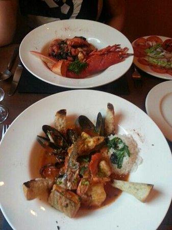 L' antica Locanda: 2 seafood specials
