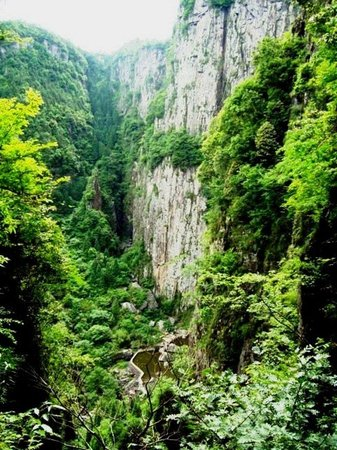 Wencheng County, Çin: Baizhanji Spot
