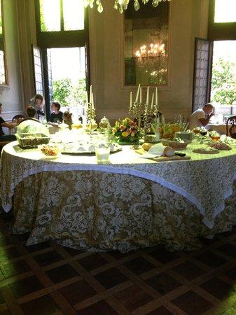 Palazzetto Pisani: Breakfast area