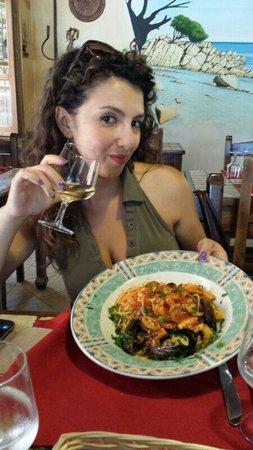 La Caletta, อิตาลี: Spaghetti allo scoglio...