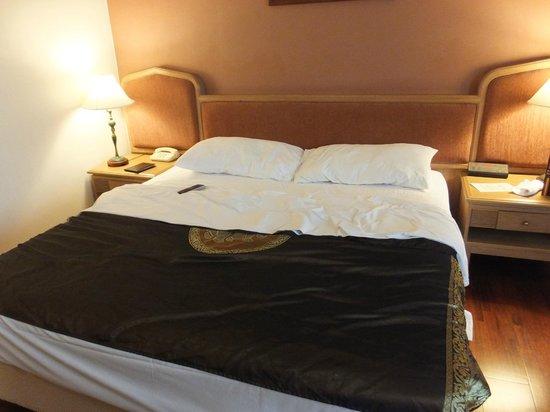 โรงแรมแกรนด์ เมอร์เคียว กรุงเทพฯ ฟอร์จูน: ゆっくり寝れる1ベット