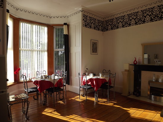 Langlands Bed & Breakfast: La sala breakfast