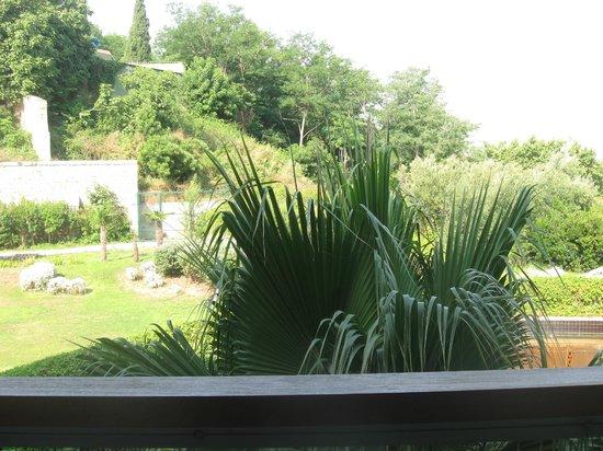 Vue jardin picture of hotel miramar barcelona barcelona for Barcelona jardin