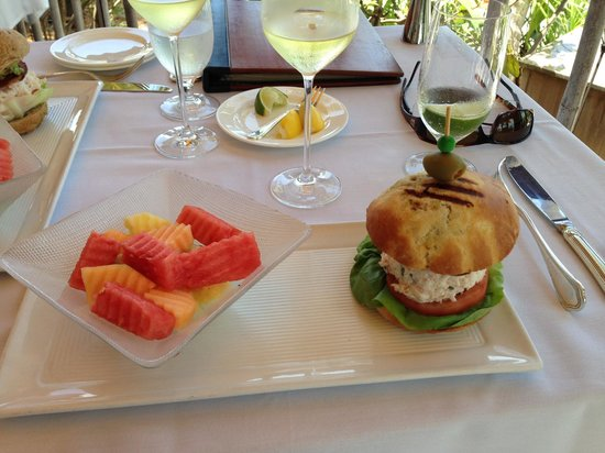The Dining Room at Little Palm Island: Lunch has arrived
