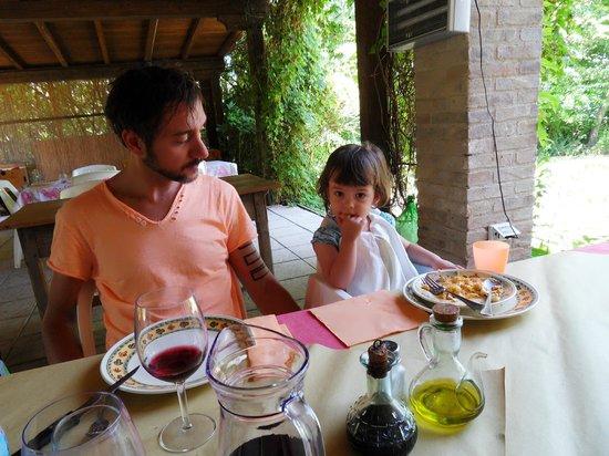 Agriturismo Pietra Rosa : Da leccarsi i baffi...