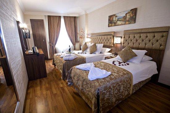 Aspen Hotel Ist : TWIN ROOM