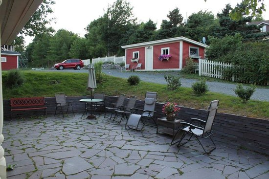 Harbour Main, Kanada: Relax in the yard