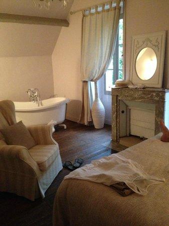 Le Petit Manoir de Keriolet : Vue chambre