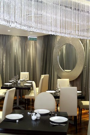 Orient is all glitz and glamour with its glass crystals dangling from the ceiling