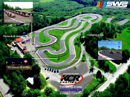 Château Richer, Canadá: Karting Chateau-Richer - Quebec