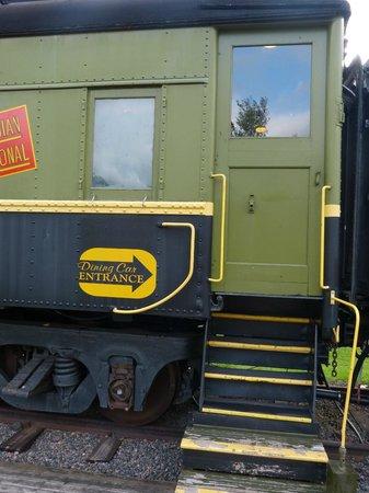 The Railway Dining Car: Railway Dining Car Entrance