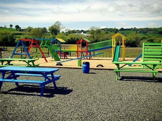outdoor playpark and picnic tables picture of mellon fun