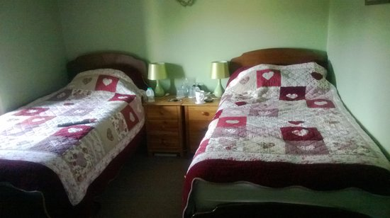 Basset Cottage B&B: Comfy twin beds