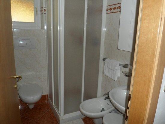 Park Hotel El Pilon: bagno della camera