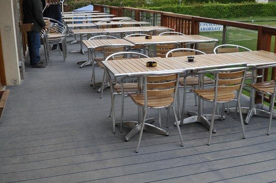 Cote Grill: Terrasse