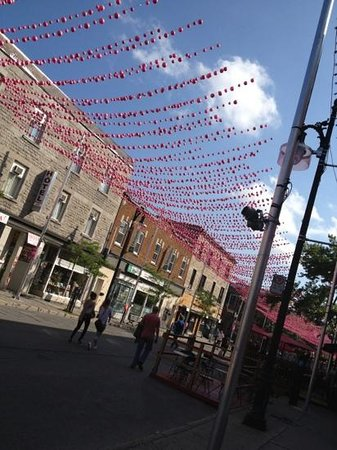 Gay Village: I love the look of the neighborhood.