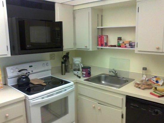 Sandrift Club: Kitchen in 2 BR unit 403