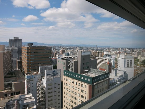 remm Shin Osaka: view from the room
