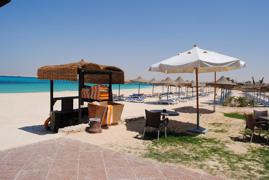 Omneya Le Mirage Bay Front Hotel: spiaggia