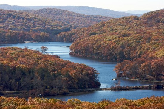 Harriman State Park: Lakes from a hilltop
