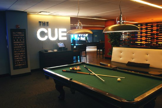 Frames Bowling Lounge - Bowling NYC: Our Billiards Lounge 'The Cue'