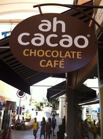 Ah Cacao Chocolate Cafe : ah cacao la isla en Cancún