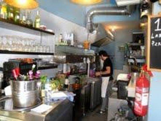 Pizzeria Arte in Farina: la cocina