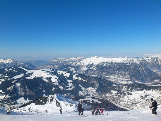 La Clusaz Ski Resort: La Clusaz