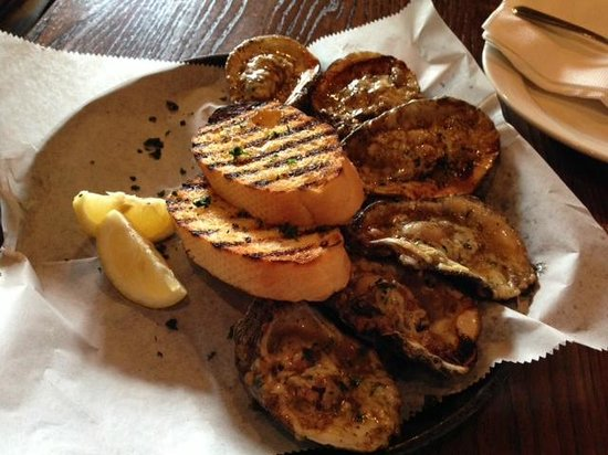 Parrain S Seafood Restaurant Chargrilled Oysters Delicious
