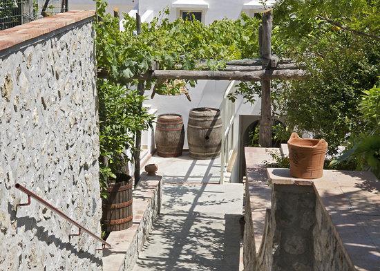 Capri Wine Hotel : entrance