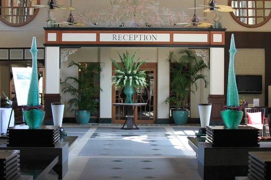 Dusit Thani Laguna Phuket: La réception