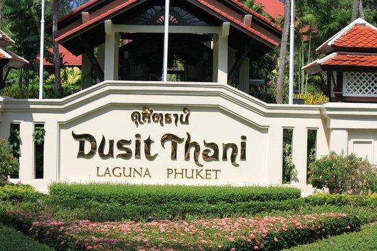 Dusit Thani Laguna Phuket: Entrée