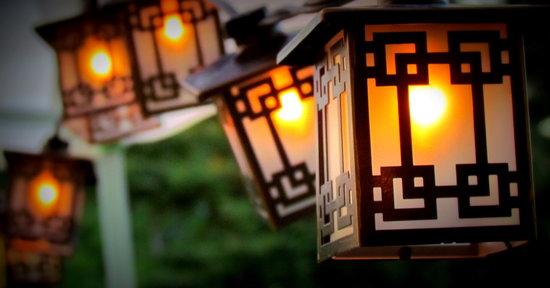Heritage Ranch Restaurant : Lights
