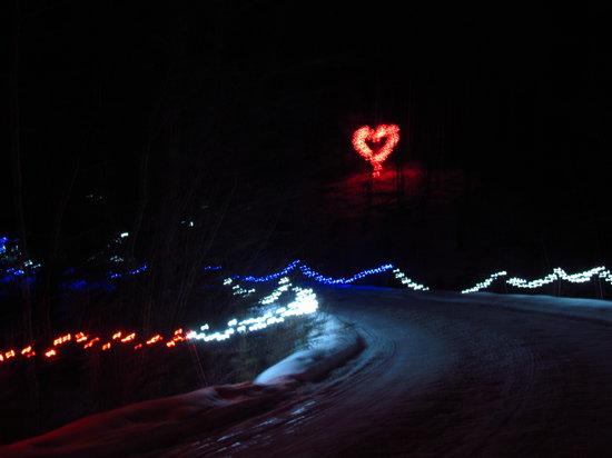 Heritage Ranch Restaurant : Winter Night Lights 2012