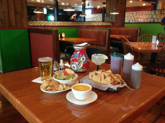 The Grasshopper Mexican Restaurant & Bar: Let The Journey Begin