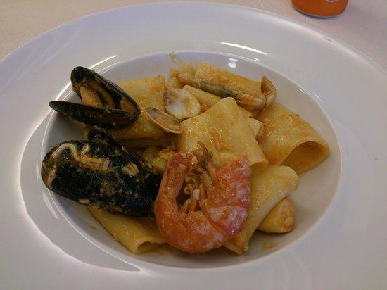 Hotel Stellamare: Eine der Mahlzeiten