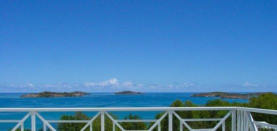 Hôtel Frégate Bleue : vue panoramique
