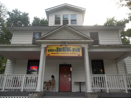 The Jerk Pit : The colonial style house