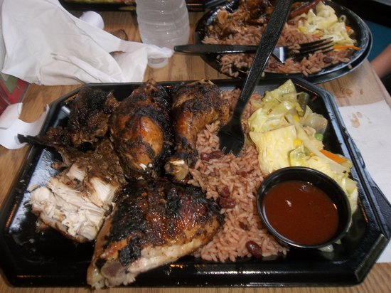 The Jerk Pit : Delicious jerk chicken
