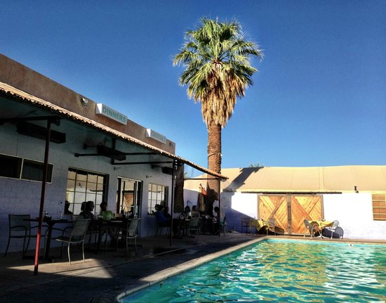 29 Palms Inn poolside