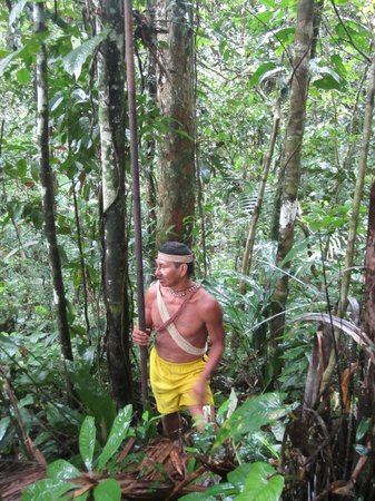 Huaorani Ecolodge: Bai, our Huaorani guide