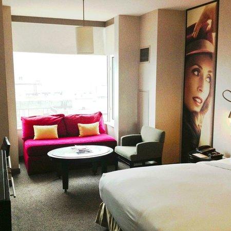 โรงแรมแกนเซอวอร์ท: The room