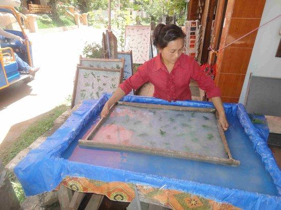 Lao Lu Lodge : Hand craft village