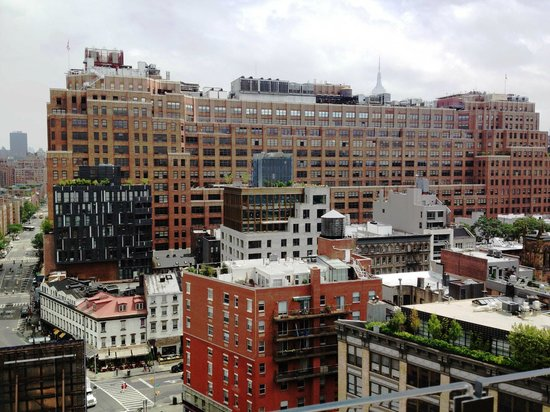 Gansevoort Meatpacking NYC: View from the rooftop pool and bar