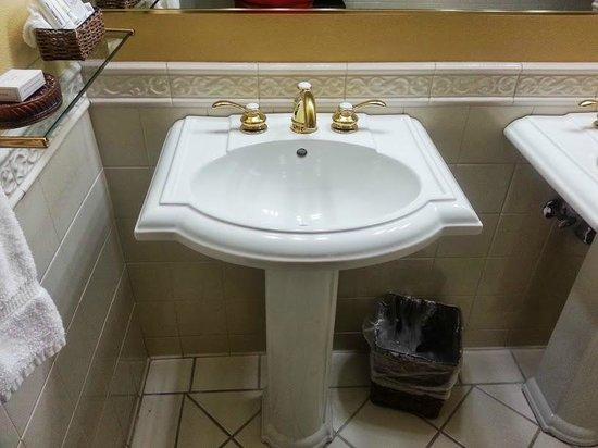 San Luis Creek Lodge : Nice sink